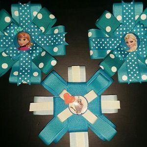 Frozen headband/clip set